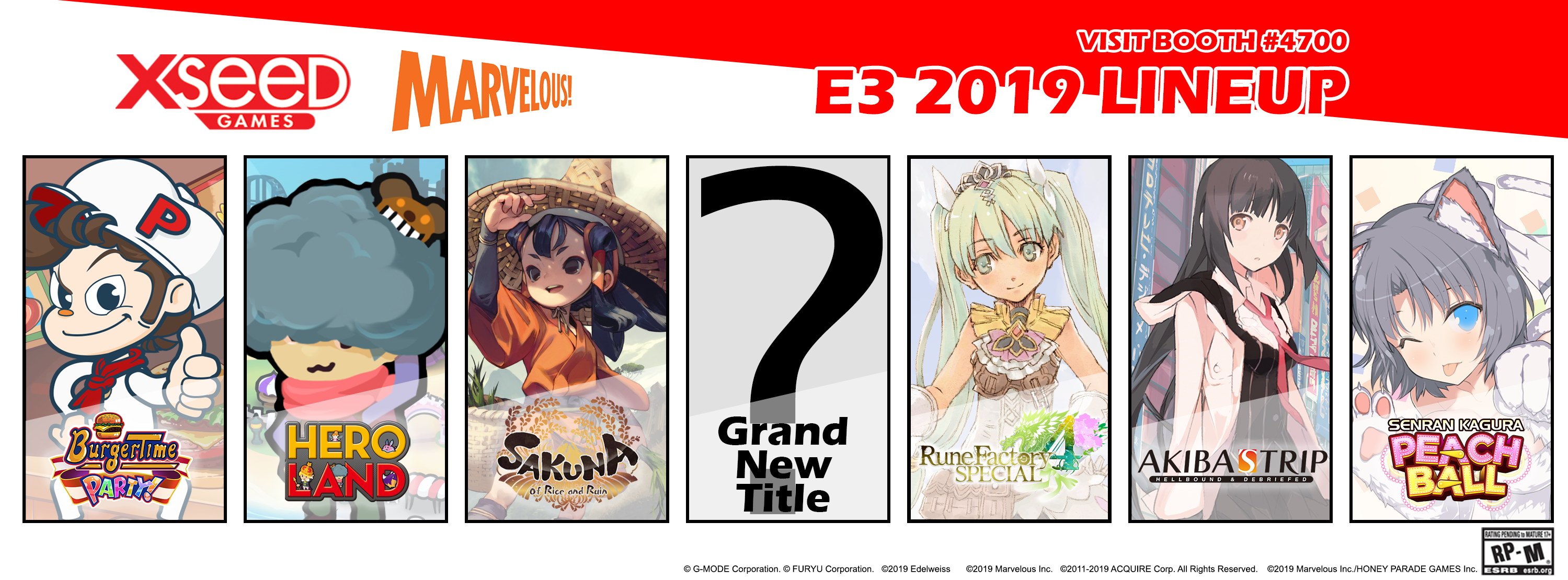 Action, RPGs, Farming, and Burgers Abound in XSEED Games' Robust E3